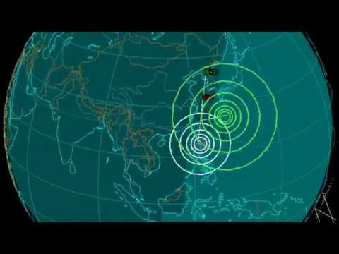 EQ3D ALERT: 12/10/14 - 6.2 magnitude earthquake in the East China Sea