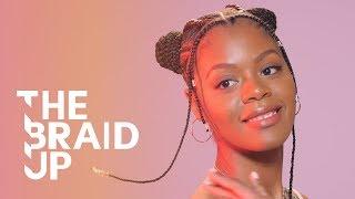 Stitch Braid Space Buns | The Braid Up | Cosmopolitan