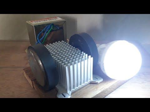 Free energy device light bulb thumbnail