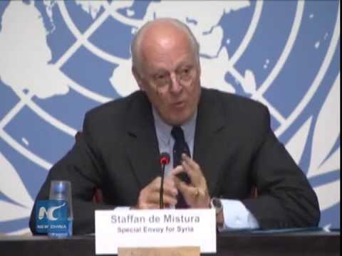 UN-backed talks on Syria begin in Geneva