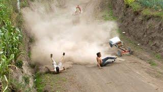 Coches de Madera San Jose 2014 HD wooden cars funny crashes 2014