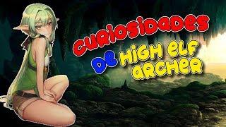 CURIOSIDADES DE LA ELFA DE GOBLIN SLAYER   High Elf Archer   GOBLIN SLAYER