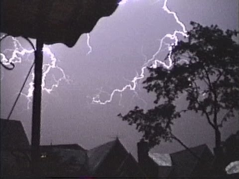 Severe Thunderstorms- Queens, NYC July 16th, 1988