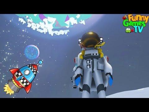 АСТРОНАВТ Игра мульт для детей про космос, машинки и крафт - Astroneer
