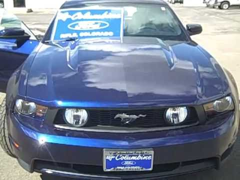 2012 Ford Mustang GT Premium Coupe 5.0L V8 6-Speed Manual Stock#2013 for sale at Columbine Ford in Rifle, Colorado www.columbineford.com 970-625-1680.