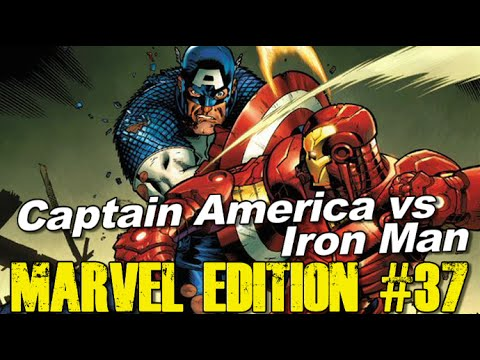 Iron Man vs Captain America in Civil War!!! - [MARVEL EDITION #37]