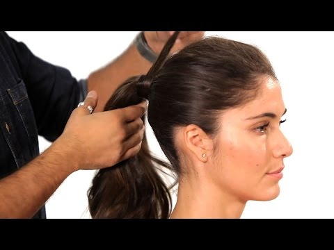 How to Do a Volumized Ponytail | Salon Hair Tutorial