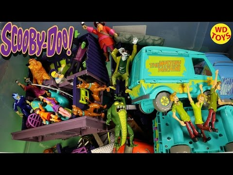 New Scooby Doo Giant Box Toys Friends & Foes Action Figure Collection Unboxing Top 10 Surprise