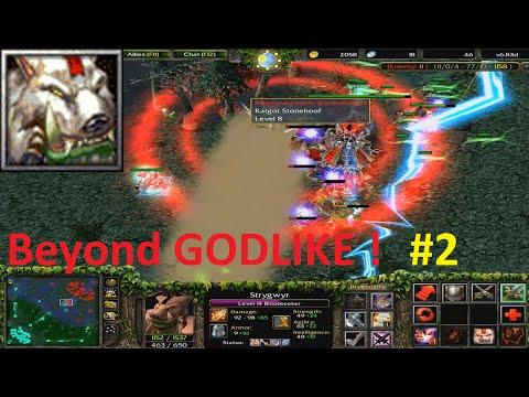 DotA 6.83d - Bloodseeker, Strygwyr Beyond GODLIKE ! #2