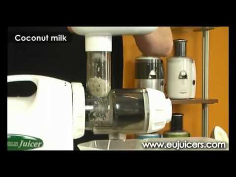 Rewelacyjna wyciskarka do soków z warzyw i owoców Omega 8006/8004 - CZĘŚĆ 2 z 2