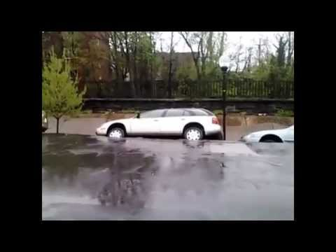 Baltimore Sinkhole Swallows Cars