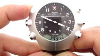 Swiss Army StarTech 3000 Watch w/  Alimeter/Barometer/Thermometer/Stopwatch
