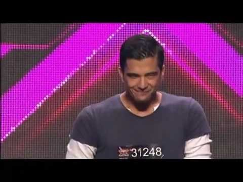 Filipino-Aussie Hottie Chris Cayzer - Auditions - The X Factor Australia 2012 night 4 [FULL].flv