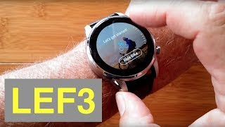 LEMFO LEF3 4G Android 7.1.1 Always Time Display Stainless Steel Smartwatch: Unboxing and 1st Look