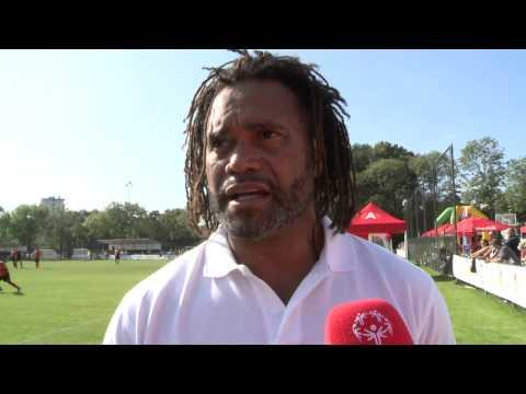 Antwerp 2014 - Christian Karembeu Interview