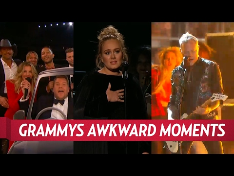 Grammys 2017 Most Awkward Moments
