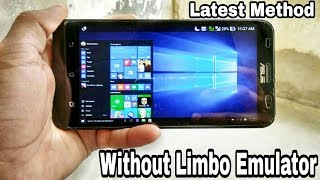 [Without Limbo]How to Install Windows 10/8/8.1/7/XP/Linux OS on Any Android Phone.!![Fastest Speed]