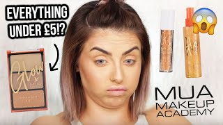 OMG! TESTING NEW MUA MAKEUP! FIRST IMPRESSIONS + REVIEW - AD