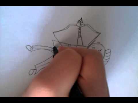 Видео как нарисовать индейца