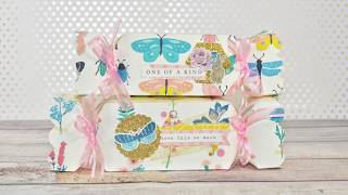 Candy Box Tutorial | Maggie Holmes Flourish | Free Template | Snail Mail Ideas | Happy Mail