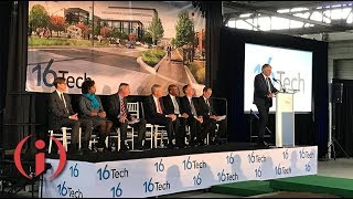 Work Begins on 16 Tech's First Building