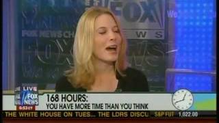 "Laura Vanderkam on Fox News with ""168 Hours"""