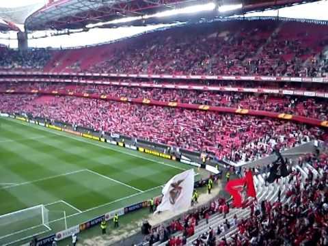 Benfica vs Tottenham (2-2) Hino do Benfica, Estádio da Luz