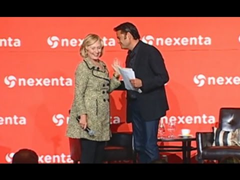 Nexenta OpenSDx Summit Keynote Speech by Hillary Rodham Clinton