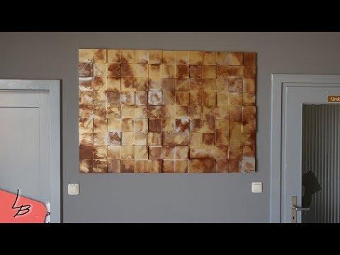 Schöne Wanddeko aus Holz |Günstig und schnell selbst gemacht!