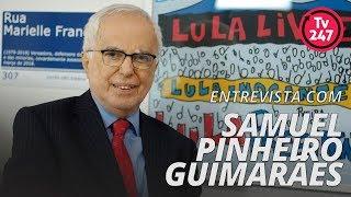 TV 247 entrevista o ex-Embaixador Samuel Pinheiro Guimarães