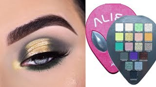 JEFFREE STAR ALIEN PALETTE | Grungey Eyeshadow Tutorial + Review