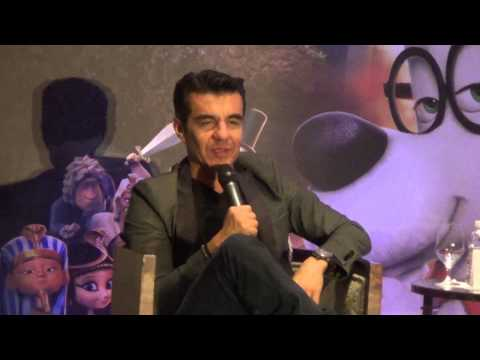 ADRIAN URIBE - MR PEABODY & SHERMAN - CONFERENCIA - CINE - PARTE 1