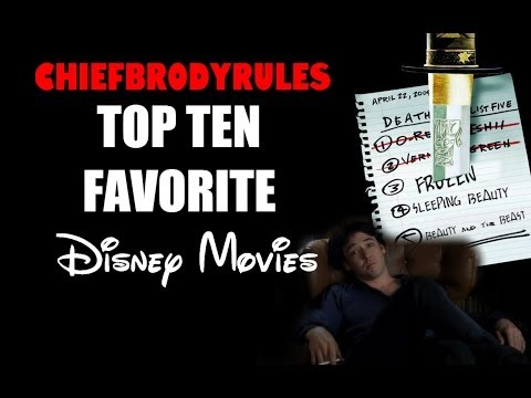 ChiefBrodyRules Top 10 Favorite Disney Animation Studios Movies