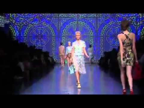 Dolce & Gabbana lente/zomer dames | spring/summer ladies 2012 Show!