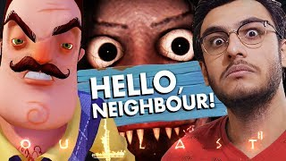 HELLO NEIGHBOUR! / GRANNY | HORROR GAMES COMPILATION | RAWKNEE