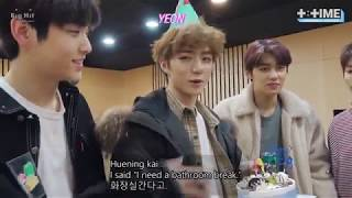 [ENG SUB] TXT  [T TIME] Beomgyu's Surprise Birthday Party