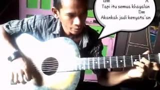 """Ayaeh Melajari Mamah Kunci Gitar Lagu """"Suara Hati"""""""