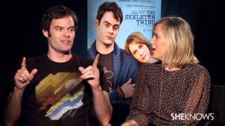 The Skeleton Twins' Kristen Wiig and Bill Hader - Celebrity Interview