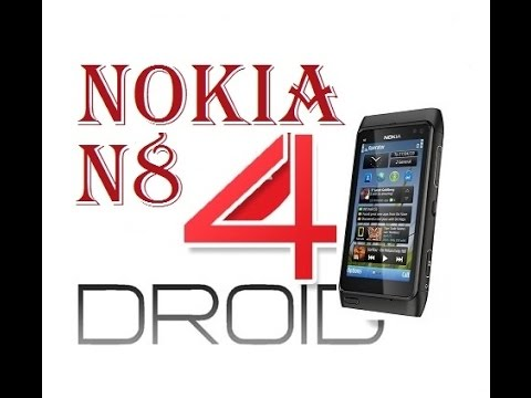 Порт Android Nokia n 8