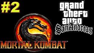 GTA San Andreas - MOD MORTAL KOMBAT! SCORPION LEVOU UMA SURRA