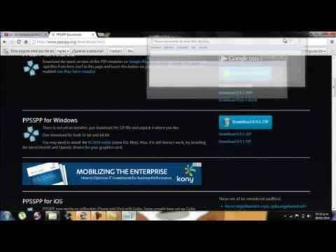descargar emulador de psp ultima version y tip para  acelerarlo