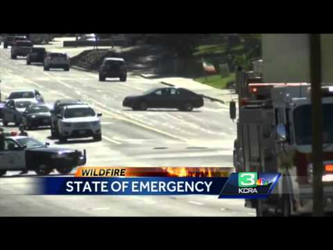 California Wildfire: State of emergency declared in Madera County