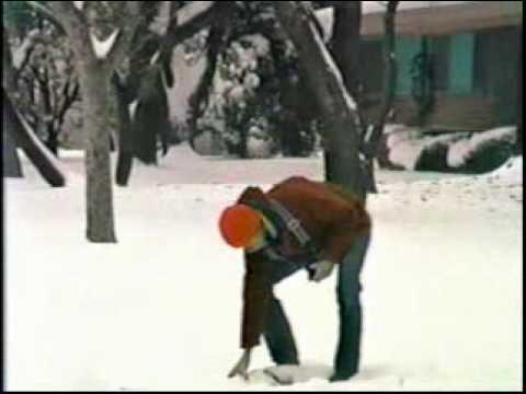 1985 Snow in San Antonio, Texas, part 2