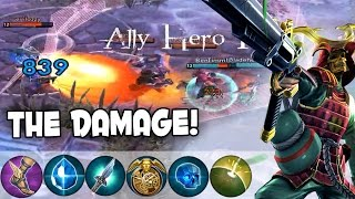 CP Ringo - Crazy Damage! | Vainglory Lane Gameplay [Mob Matches Ep. 3]