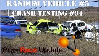 BeamNG Drive Random Vehicle #5 Crash Testing #94