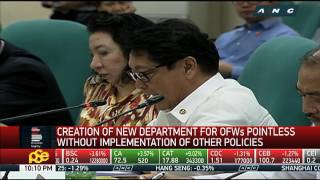 Business Nightly: DOLE rejects separate department for OFWs