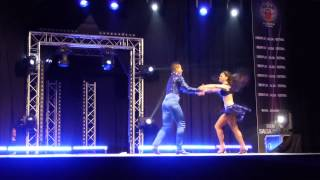 William y Melanie @ Tremplin Salsa Festival 2015