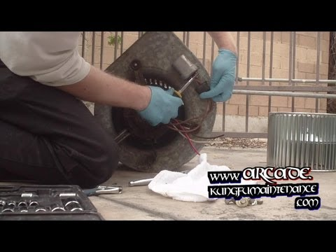 How To Replace Noisy Broken Indoor Air Conditioner Furnace Fan Blower Wheel
