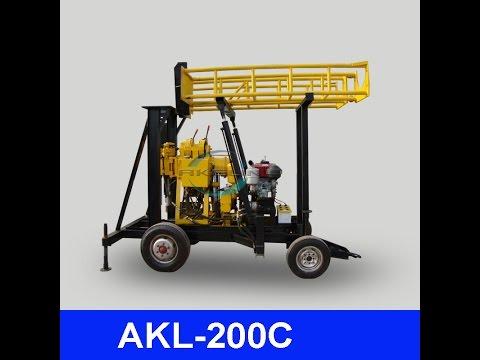 AKL 200C drilling rig  for upload
