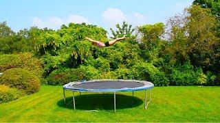 Summer trampolining!